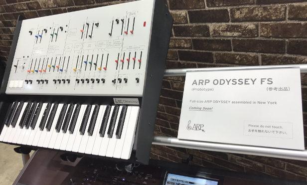 Korg ARP Odyssey FS image leak shows new reissue with full-size keys
