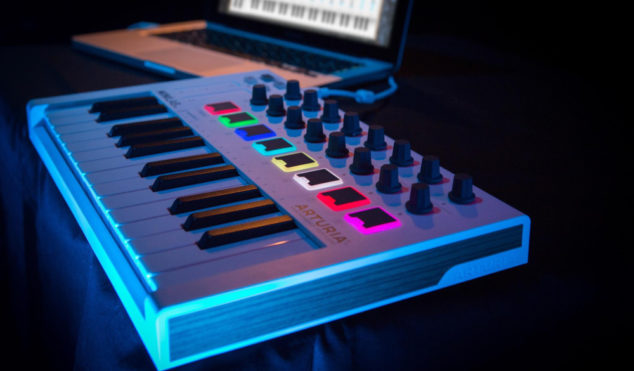 Arturia announces portable $119 MIDI keyboard, MiniLab MkII