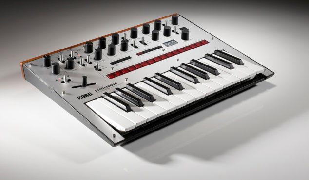 Korg's new Monologue synth includes presets designed by Aphex Twin