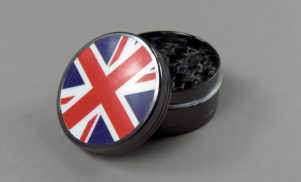 Babyfather are selling a Union Jack grinder