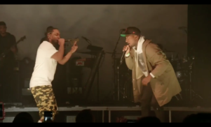 Kendrick Lamar brings fans on stage in NYC to rhyme with him