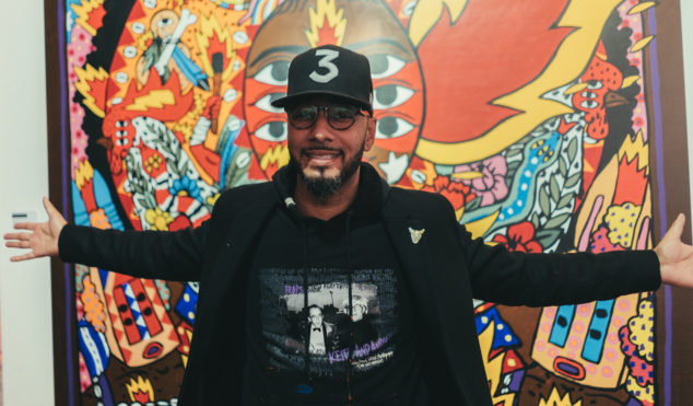 Watch Swizz Beats brings his art project No Commission to London
