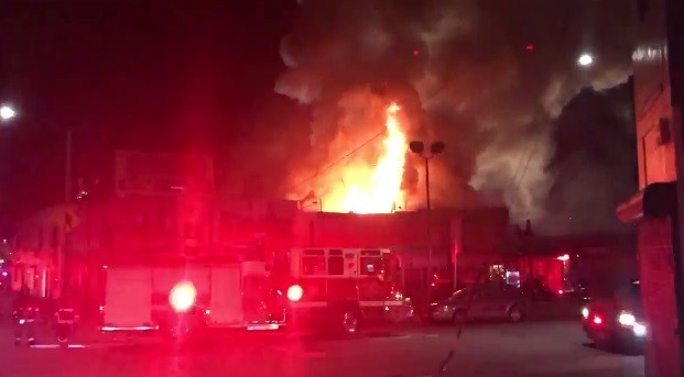 At least nine people dead and 25 missing after fire breaks out at 100% Silk warehouse party in Oakland