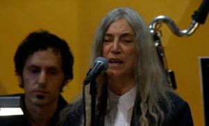 Patti Smith performs for Bob Dylan at Nobel Prize award ceremony