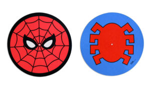 Mondo is releasing a pair of Spider-Man slip mats