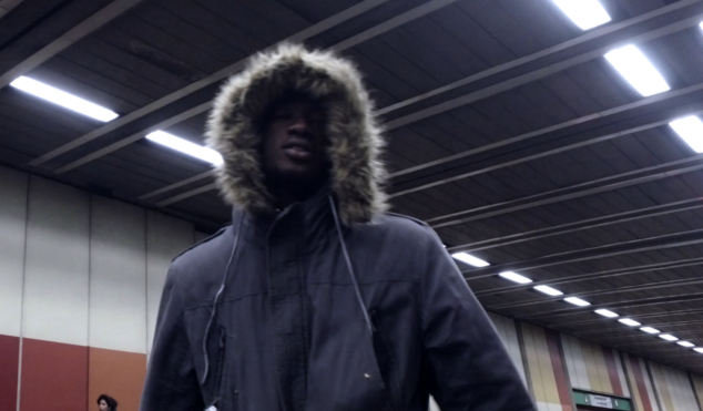 Watch YGG's Saint P spit non-stop bars over a DJ Spooky beat