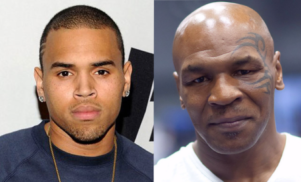 Mike Tyson is training Chris Brown for his fight against Soulja Boy