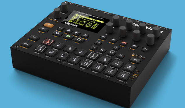 Elektron announces compact digital drum machine and sampler, Digitakt