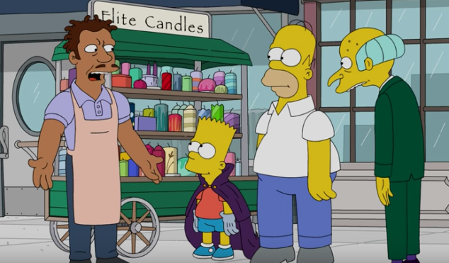 Watch a clip from The Simpsons' hip-hop-themed episode
