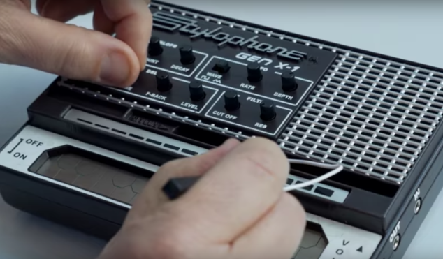Watch the souped-up Stylophone Gen X-1 in action at NAMM 2017