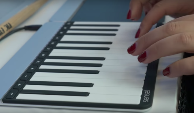 Watch Sensel's innovative music-making touch device in action at NAMM 2017