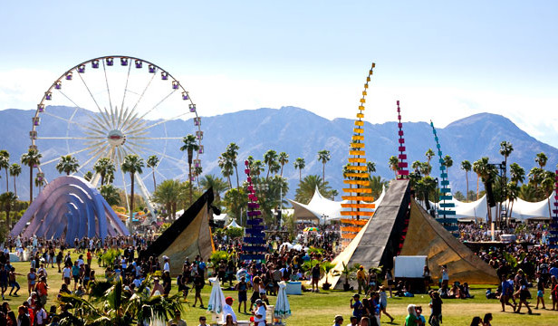 """Head of company behind Coachella and London's O2 says anti-LGBTQ claims are """"garbage"""""""
