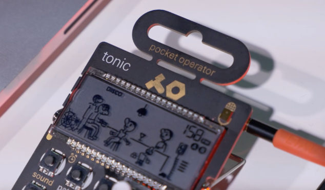 Watch Teenage Engineering's tiny PO-32 Tonic synth at NAMM 2017