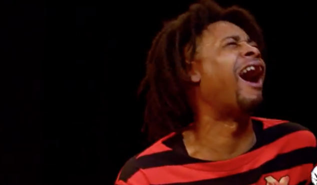 Watch Danny Brown get destroyed by hot wings in a new interview