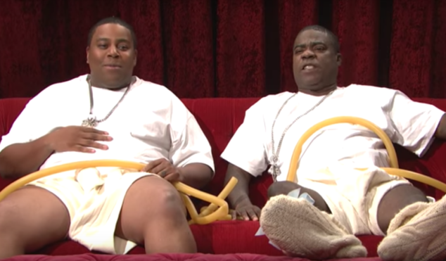 Beyoncé's twins are living the life of luxury inside her womb in new SNL skit