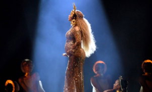 A very pregnant Beyoncé performed a Lemonade medley at the Grammys –watch