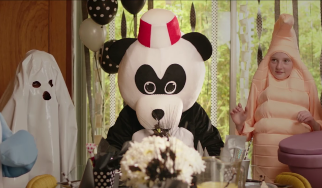Watch an eerie clip from St. Vincent's horror film The Birthday Party