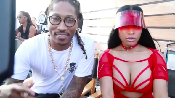 Nicki Minaj teases collaboration with Future