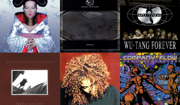 30 incredible albums turning 20 years old in 2017