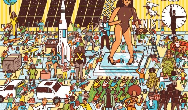 Search for Beyoncé in this amazing Where's Waldo-style picture book