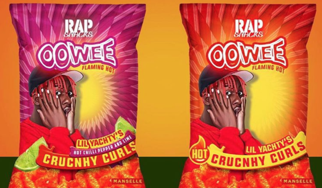 Lil Yachty's hair inspires new Rap Snacks flavors