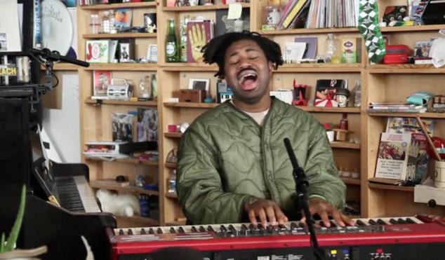 Watch Sampha perform for NPR's Tiny Desk Concert