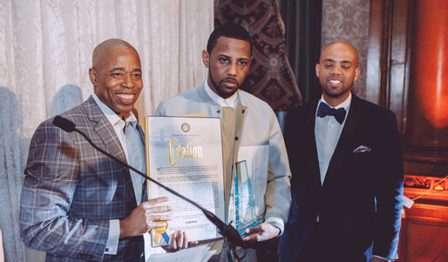 Fabolous gets the key to Brooklyn
