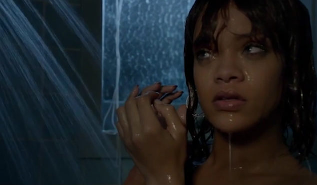Rihanna's Bates Motel shower scene will have Hitchcock turning in his grave