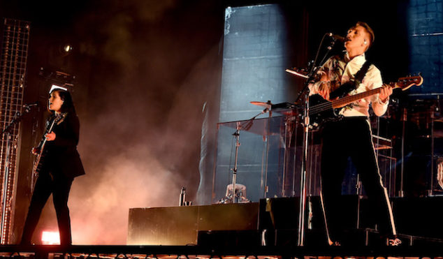 Watch The xx's Coachella set featuring drone light show