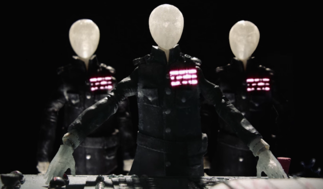 At The Drive-In go stop motion in video for new single 'Hostage Stamps'
