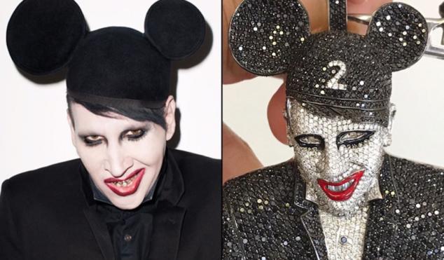 Lil Uzi Vert doubles down on Marilyn Manson fandom with $100K chain