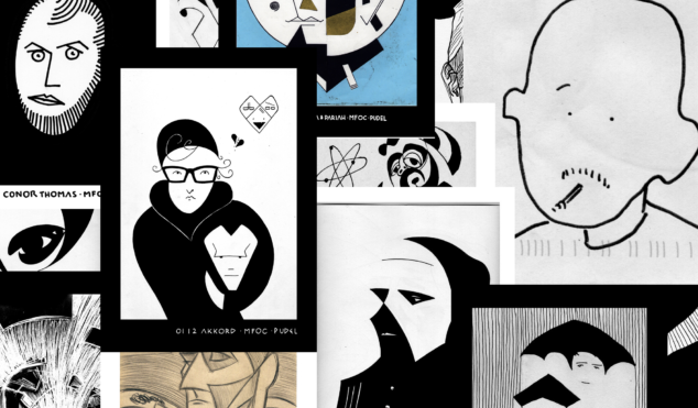 Saluting Alex Solman's strange, supreme illustrations of your favorite club heroes