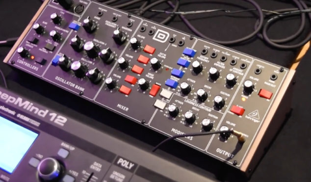 Watch Behringer's $399 Minimoog clone in action