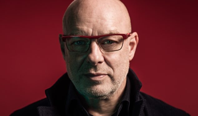 British comic Adam Buxton shares epic interview with Brian Eno