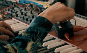 This MIDI device controls 16 synth functions from just one knob