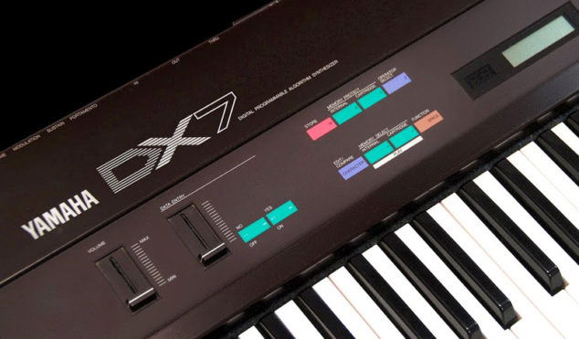 Sound like Brian Eno with his Yamaha DX7 synth patches from 1987