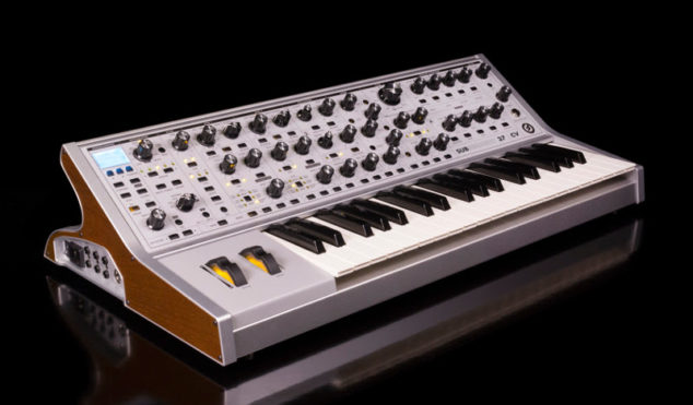 Moog's new synth includes presets made by SURVIVE and 808 State