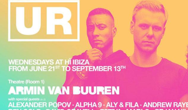 Underground Resistance accuse Armin van Buuren of plagiarizing logo for Ibiza party