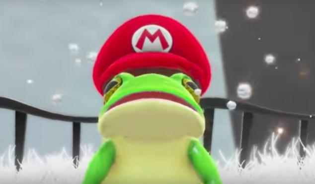 Nintendo unveils insane trailer for Super Mario Odyssey at E3