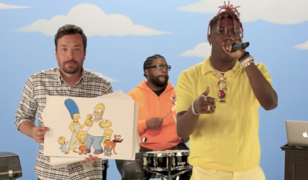 Watch Lil Yachty rap about 59 Simpsons characters in three minutes