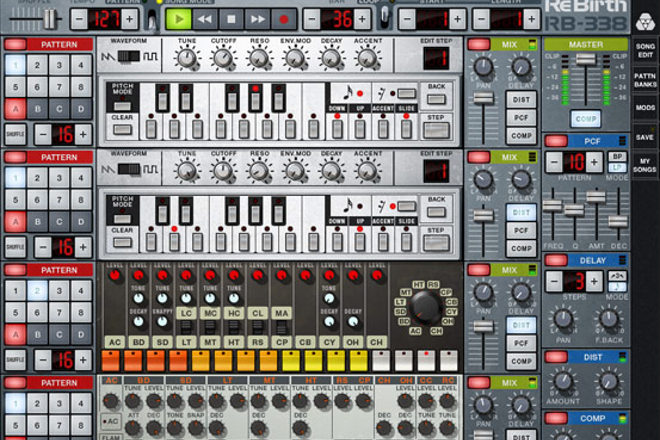 Propellerhead's ReBirth is no more as Roland claims IP infringement