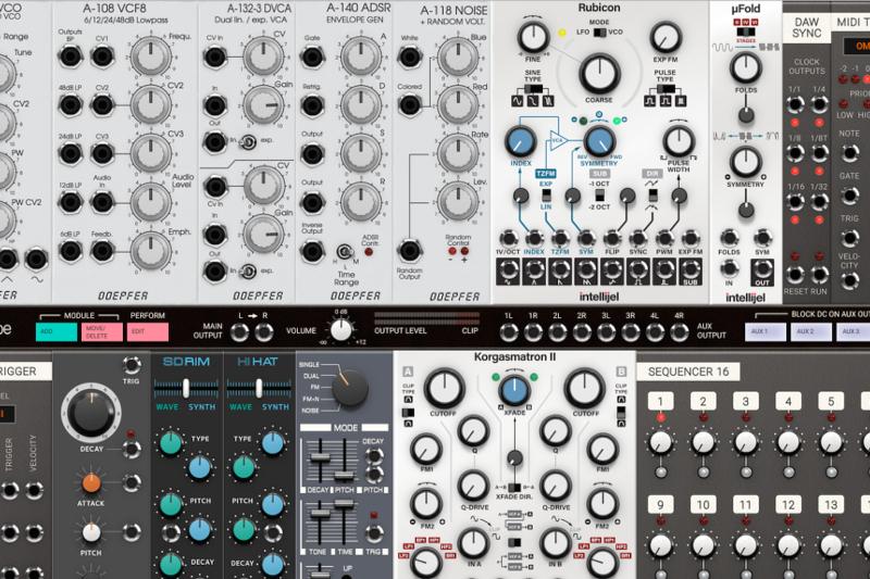 Eurorack favorite 4ms joins Softube's virtual modular system