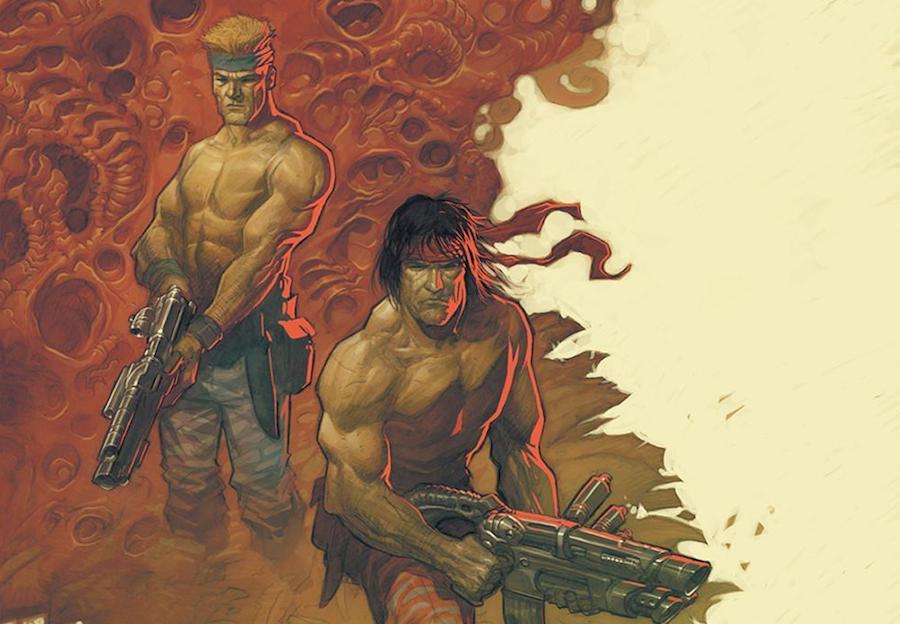 Konami's legendary Contra receives first ever vinyl soundtrack release