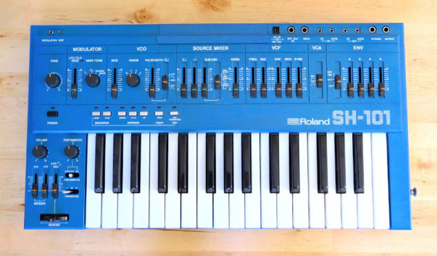 Roland's next Boutique synth could be an SH-101 reissue