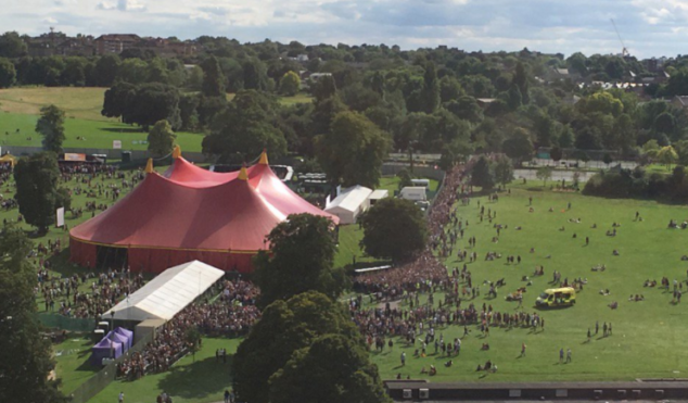 """London's Sunfall Festival under fire for """"chaotic"""" and """"dangerous"""" five-hour queues"""