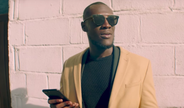 Stormzy handles business in the 'Cigarettes and Cush' video featuring Kehlani