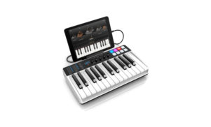 iRig Keys I/O is an audio interface and MIDI keyboard controller for $199