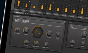Native Instruments adds new bass synth to Maschine