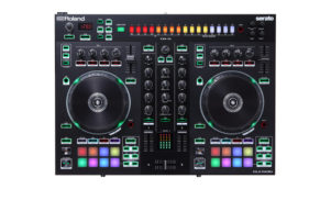 Roland and Serato unveil new hybrid drum machine DJ controllers