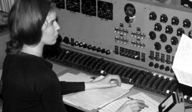 Listen to an unreleased Delia Derbyshire track, 'Future Ghosts'